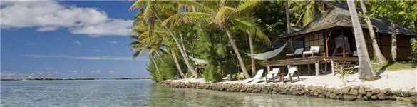 Vahine Private Island Resort Beach Suite