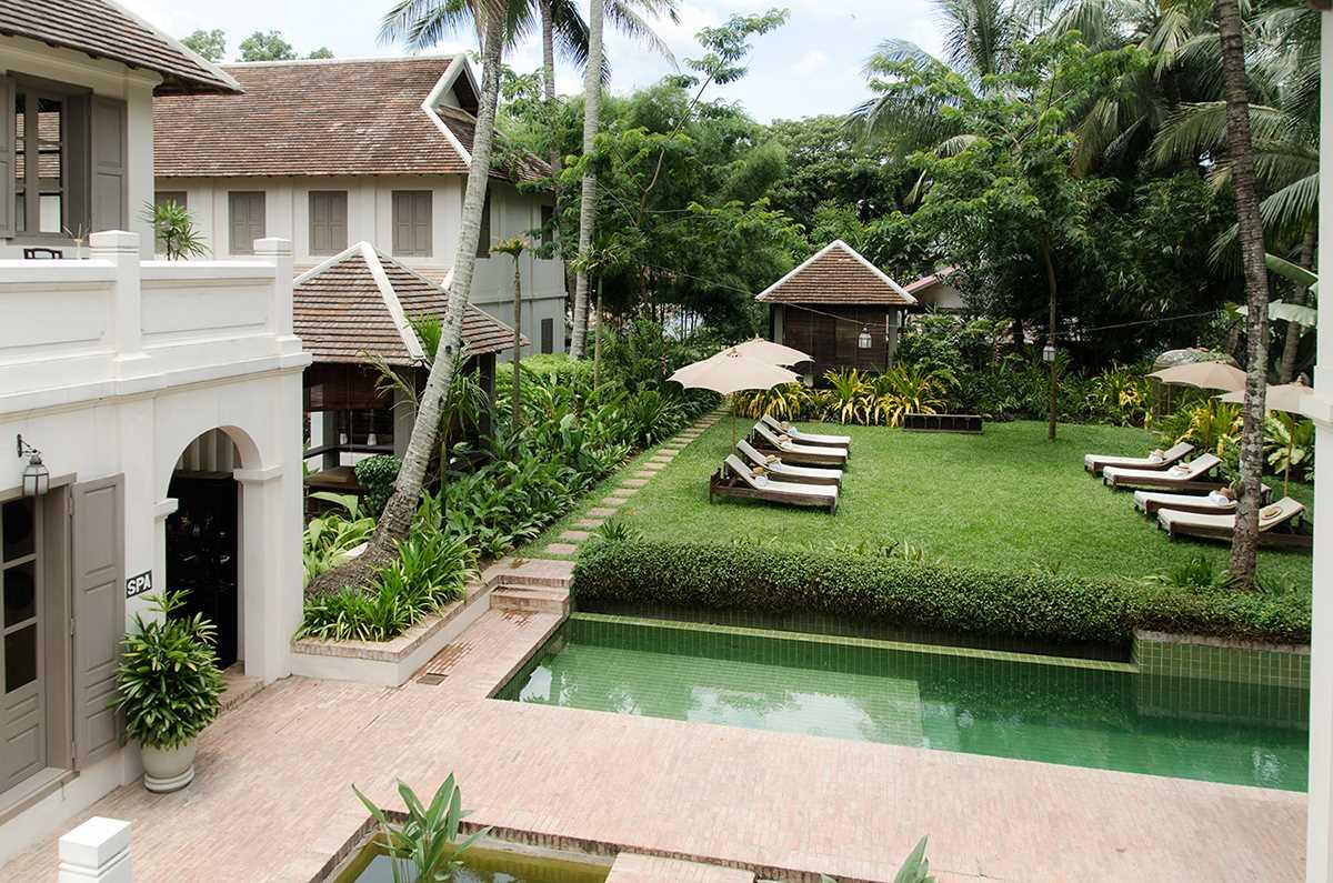 Satri House Garten