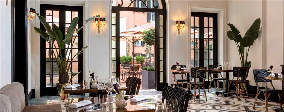 Rocco Forte Hotel De La Ville Restaurant