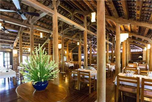 Pilgrimage Village Boutique Resort & Spa Restaurant