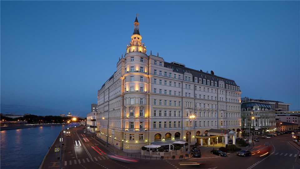 Hotel Baltschug Kempinski Außenansicht