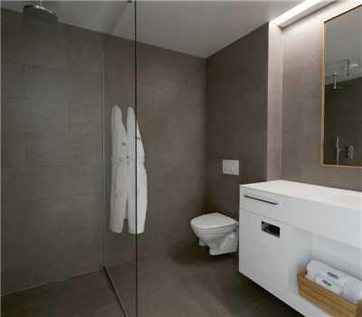 Silica Hotel Badezimmer