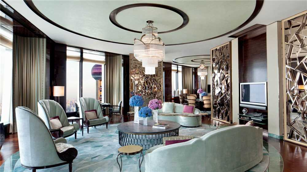 The Ritz-Carlton Shanghai Pudong The Ritz Carlton Suite