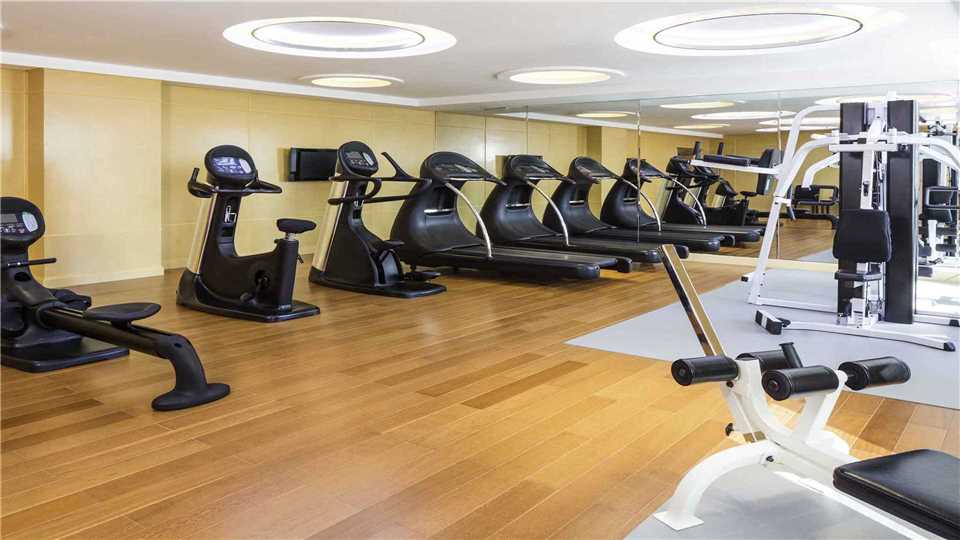 Hua Ling Grand Hotel Fitnessbereich
