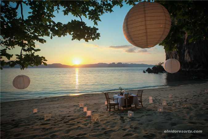 El Nido Resort Lagen Island Dinner