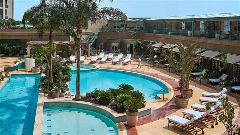 Four Seasons Hotel Cairo at Nile Plaza Pool