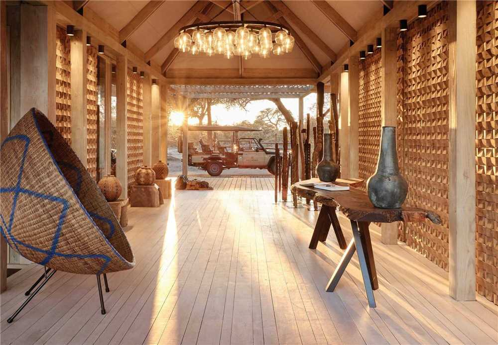 Belmond Savute Elephant Lodge Rezeption