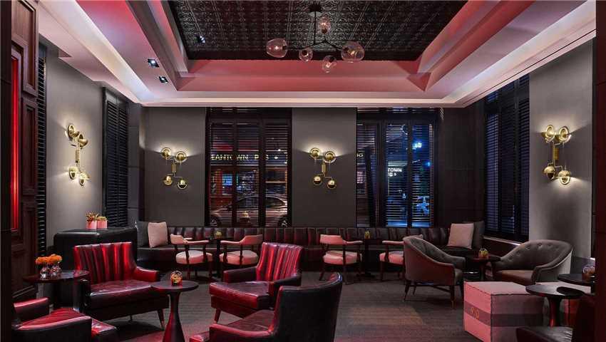 Nine Zero Hotel Lounge