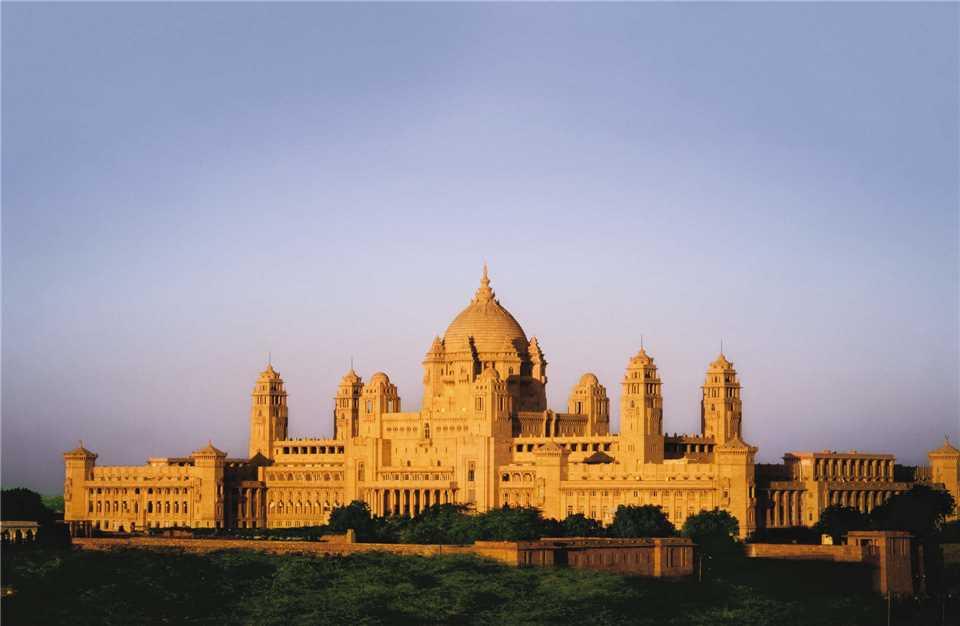 Taj Umaid Bhawan Palace Hotelansicht