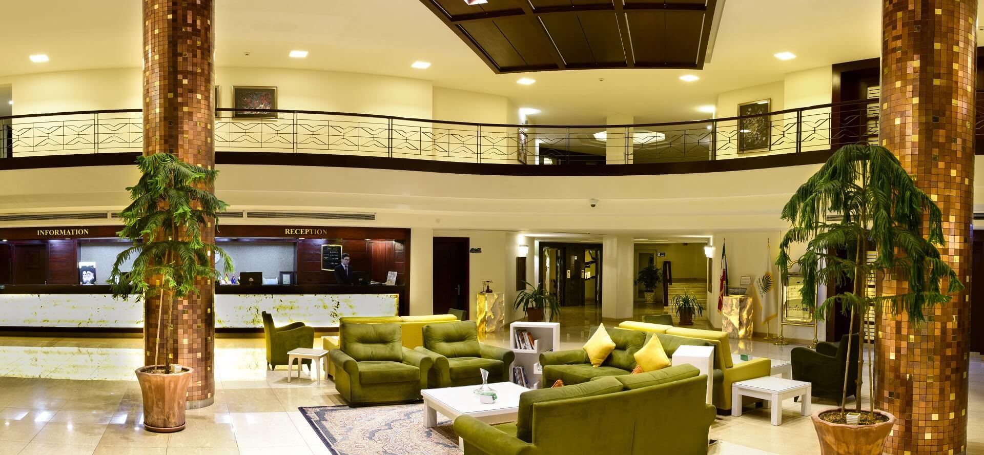 Arg a Jadid Hotel Empfangsbereich