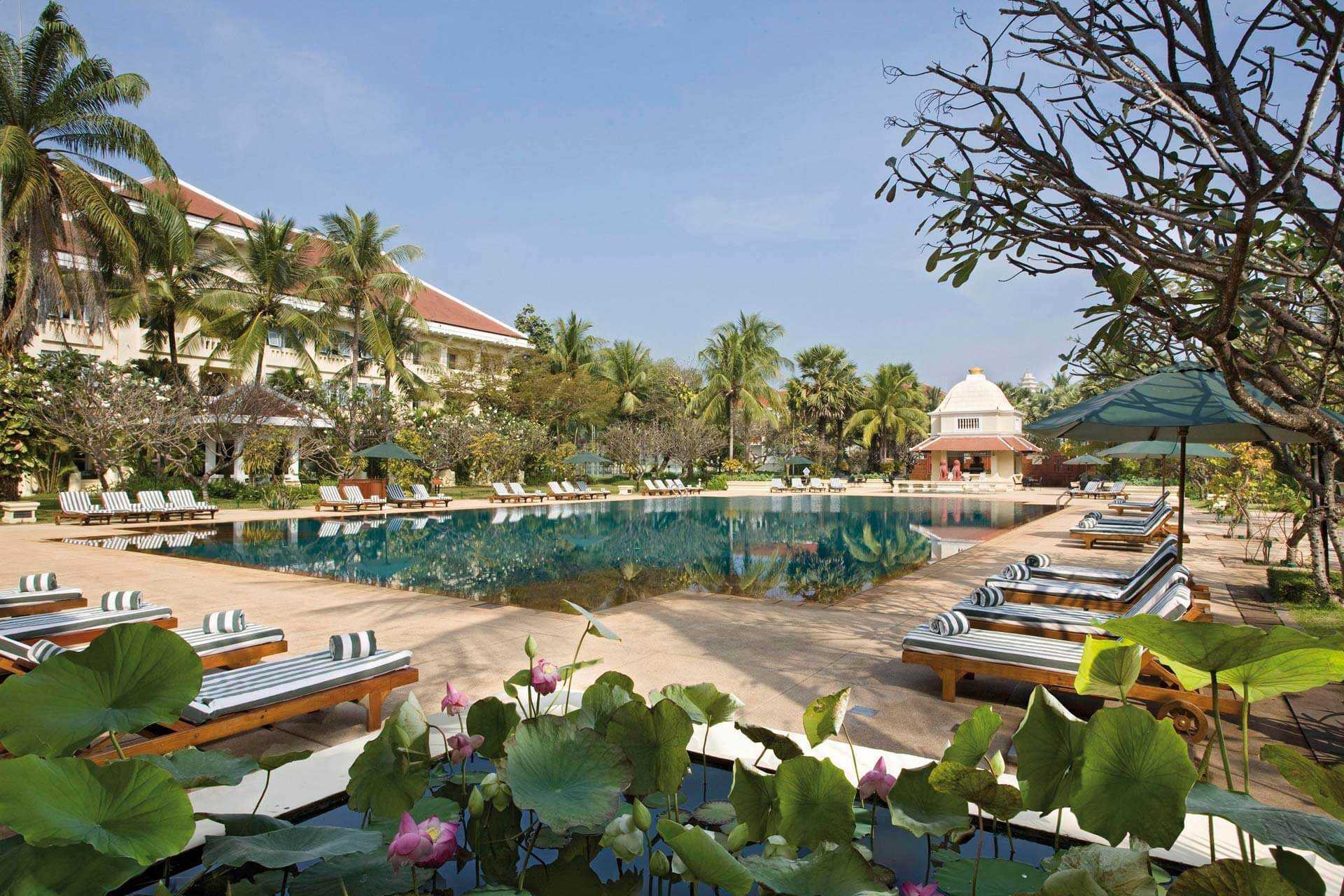 Raffles Grand Hotel dAngkor Pool
