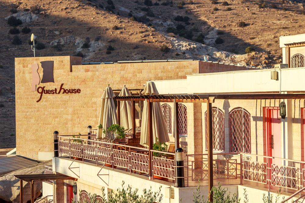 Petra Guest House in Petra Außenansicht