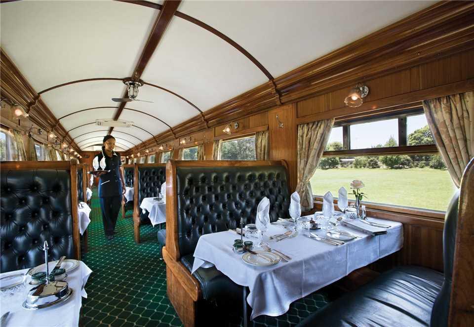Rovos Rail Restaurant