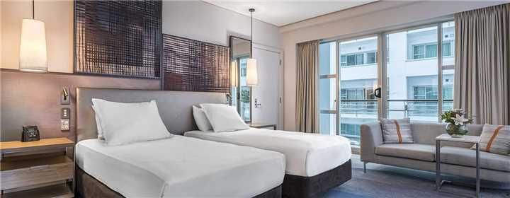 Hilton Auckland Twin Hilton Guestroom