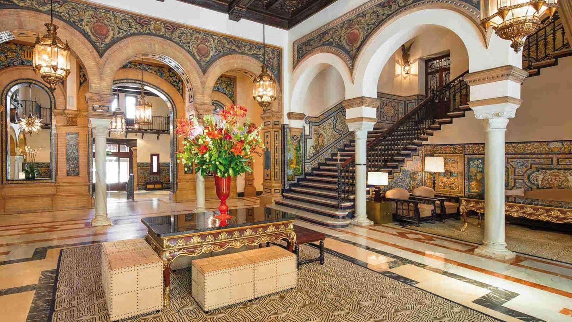 Hotel Alfonso XIII Lobby