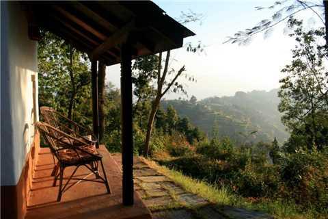 Namo Buddha Resort Ausblick