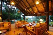 Ishasha Wilderness Camp Lounge