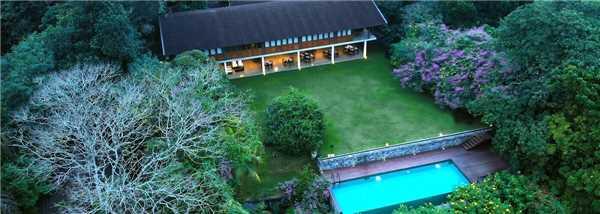 Kings Pavilion Luftaufnahme