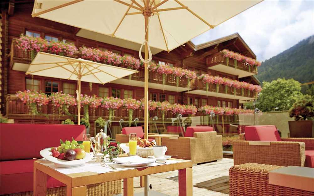 Grand Hotel Zermatterhof Lounge