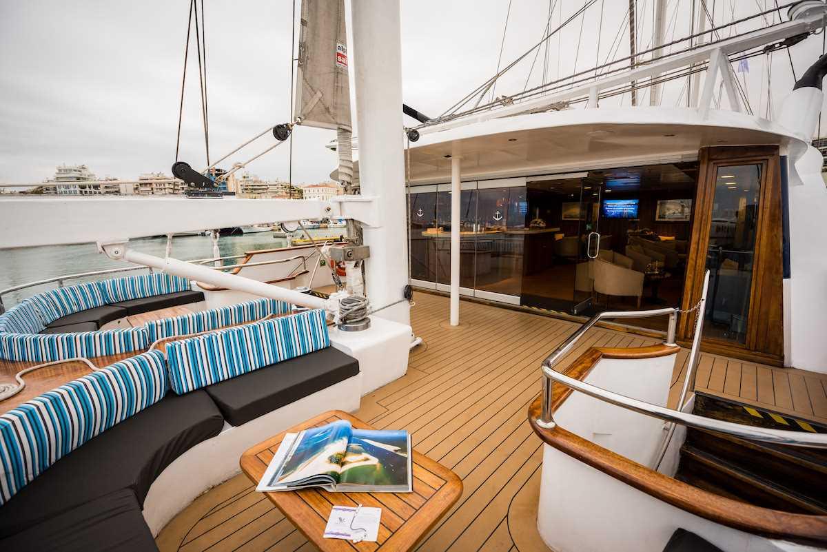 MS Panorama Variety Cruises Deck