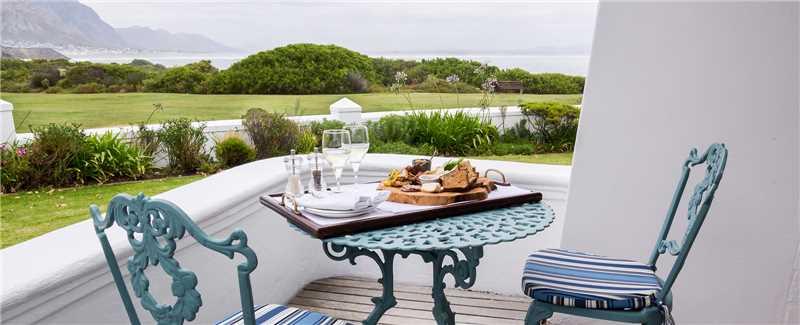 The Marine Hotel Balkon des Luxus Doppelzimmer mit Seeblick