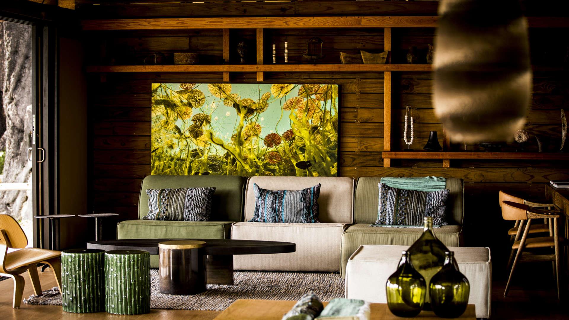 Vumbura Plains Lounge