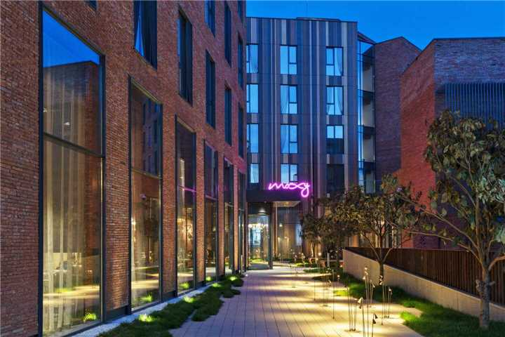 Moxy Tbilisi by Marriott Eingang