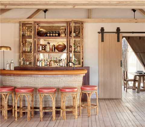Belmond Savute Elephant Lodge Bar