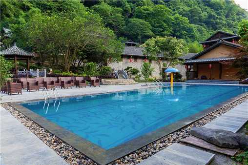 Yangshuo Ancient Garden Boutique Hotel Pool