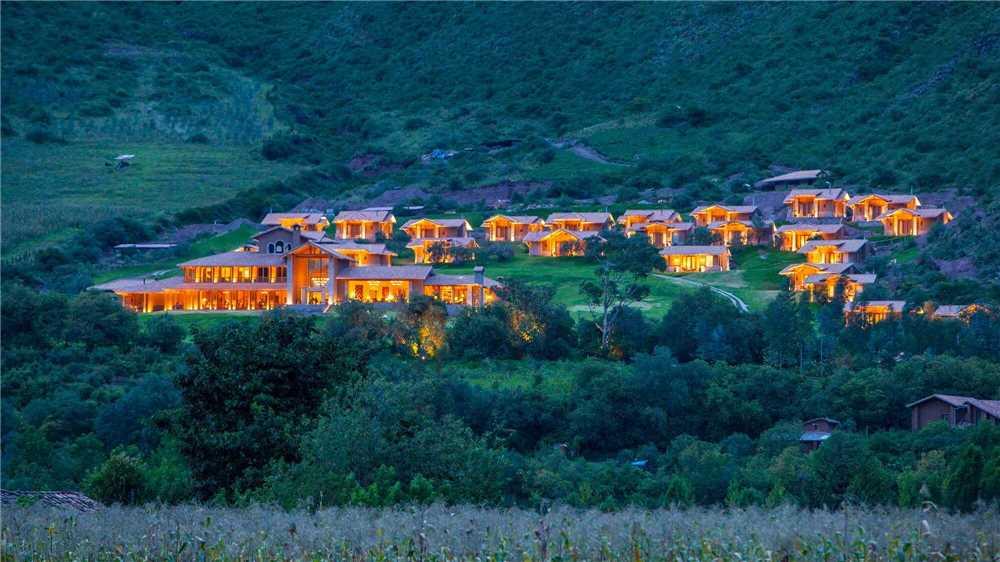 Inkaterra Hacienda Urubamba Außenanlage