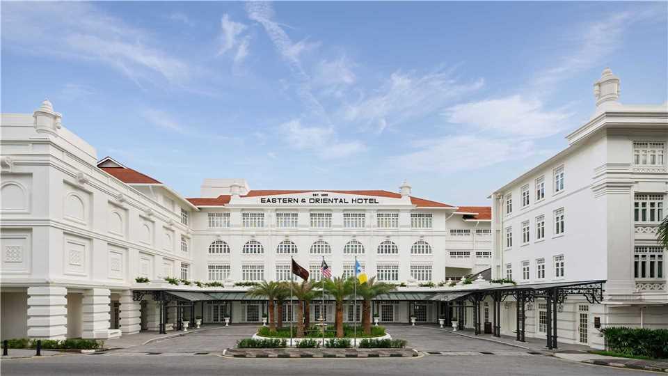 Eastern & Oriental Hotel Außenansicht