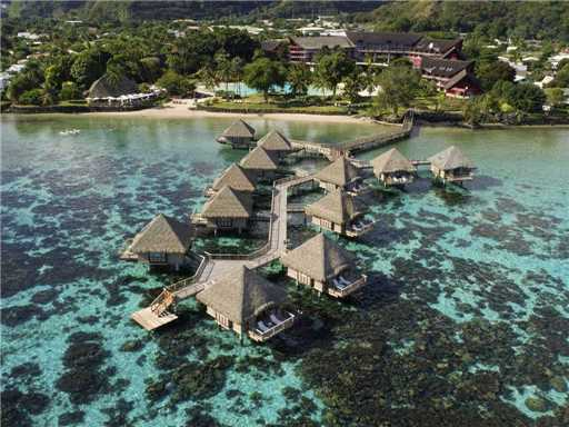 Tahiti Ia Ora Beach Resort managed by Sofitel Luftaufnahme