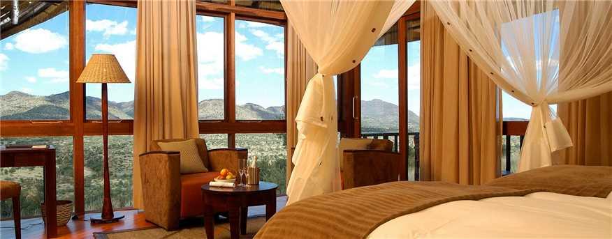 GocheGanas Lodge Doppelzimmer