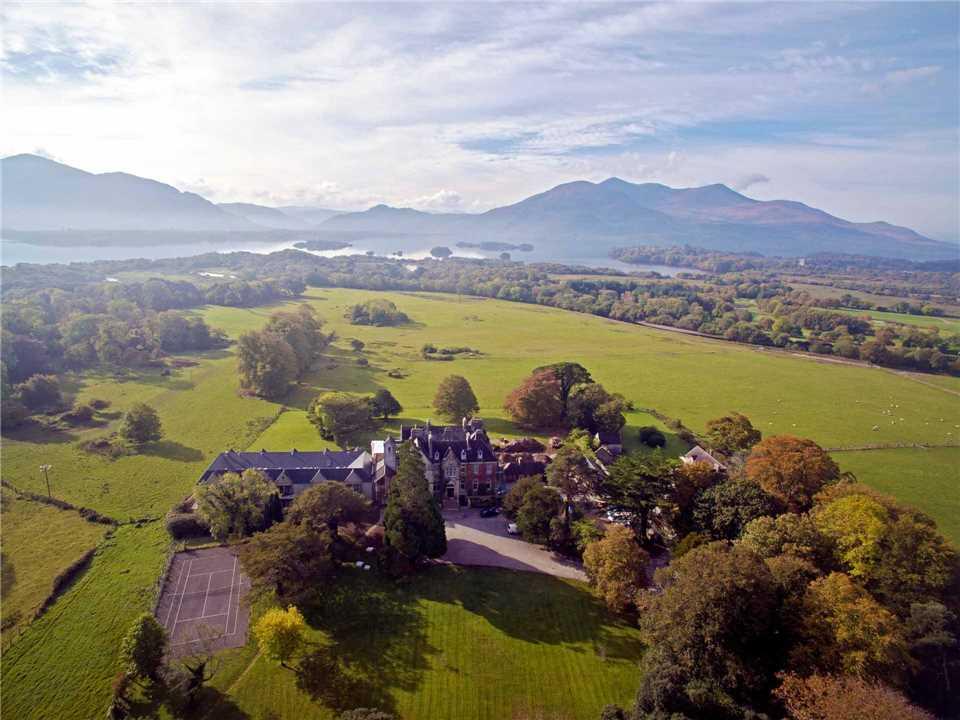 Cahernane House Hotel – Killarney Hotel Außenansicht