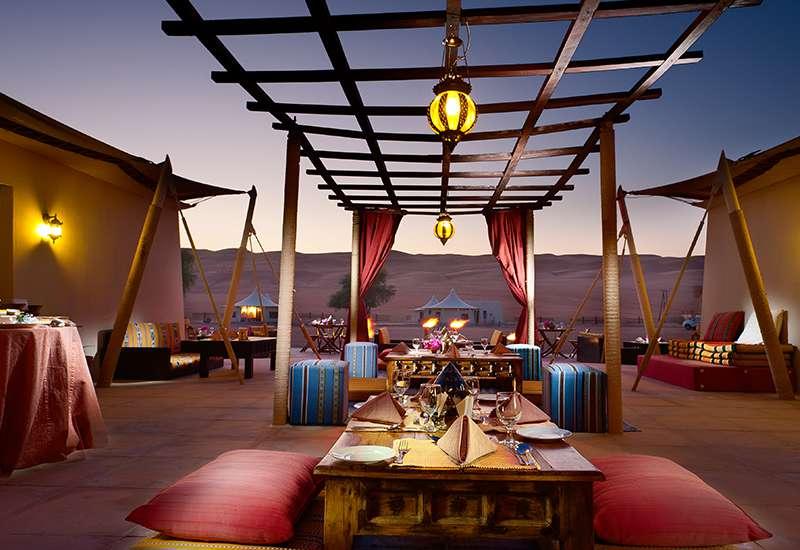Desert Night Camp Terrasse