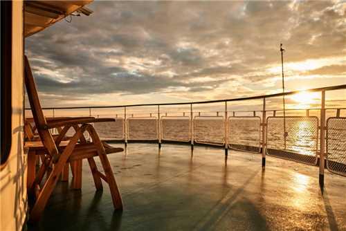 Volga Dream Sonnenuntergang