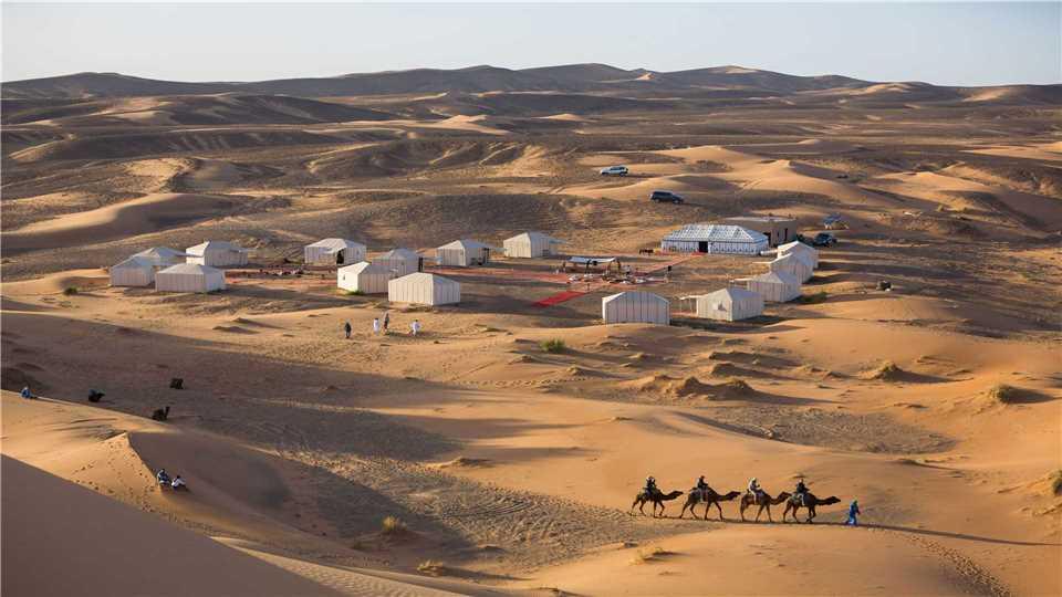 Merzouga Luxury Desert Camp Außenansicht