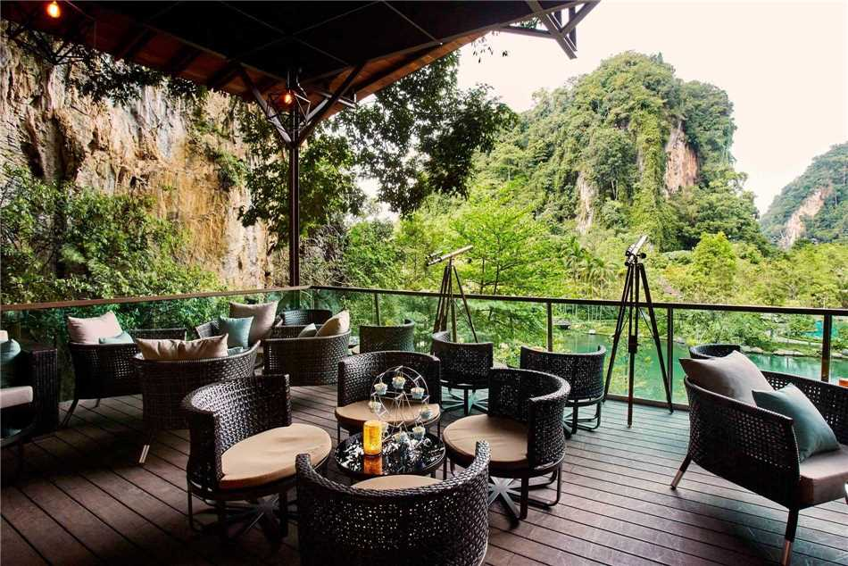 The Banjaran Hotsprings Retreat Terrasse