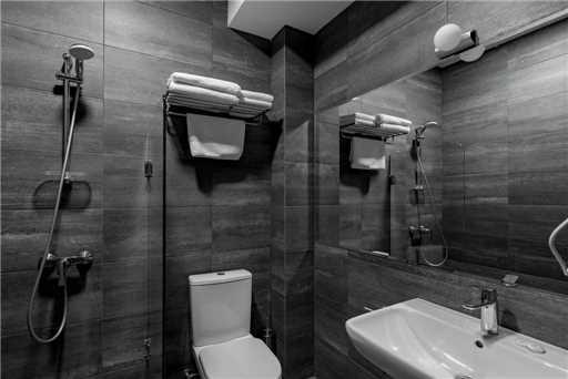 Hotel Stancia Kazbegi Badezimmer