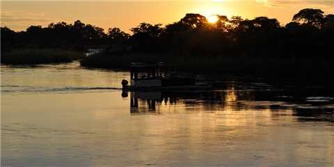 Shametu River Lodge Bootsfahrt
