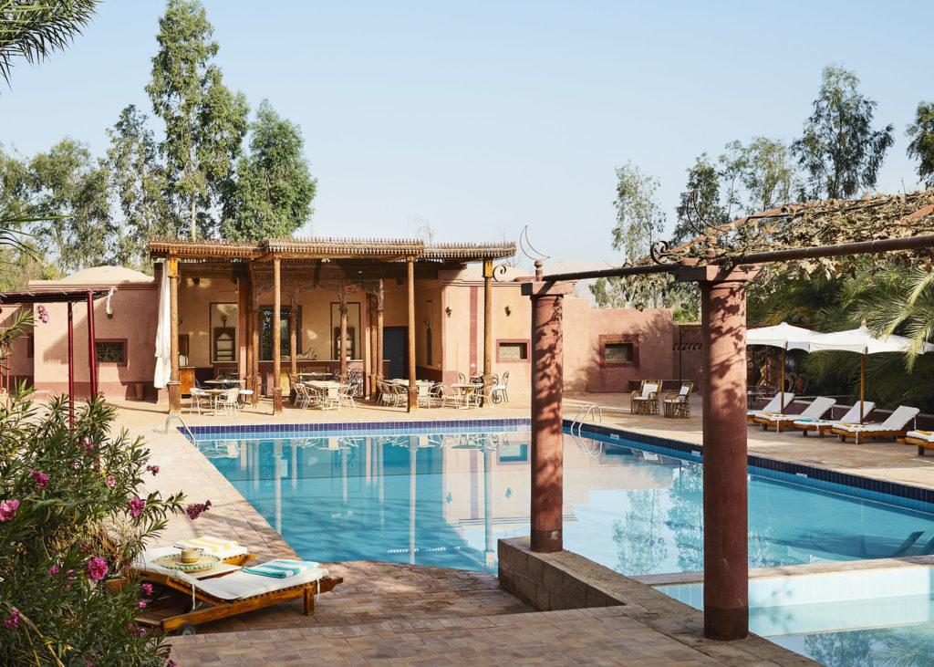 Al Moudira Hotel Pool