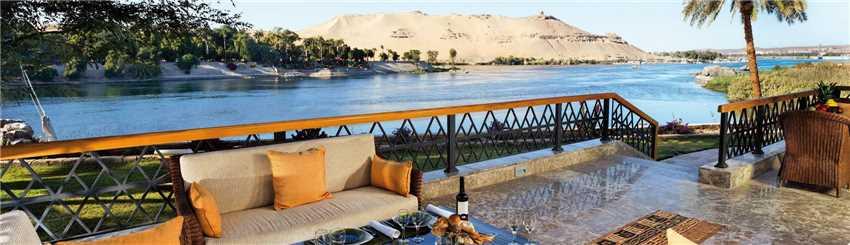 Mövenpick Resort Aswan Terrasse
