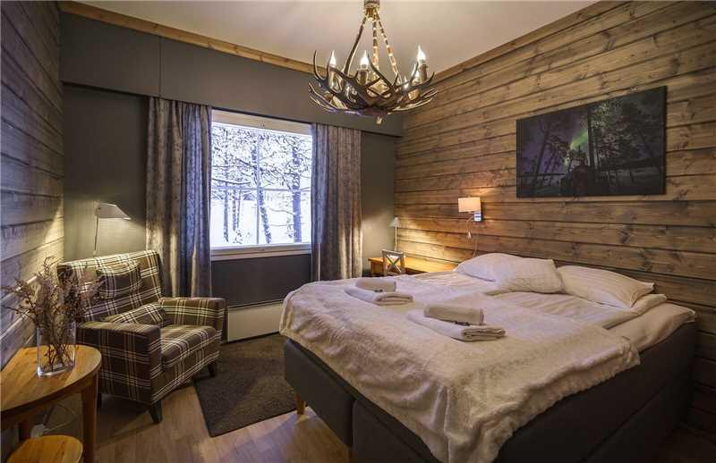 Wilderness Hotel Muotka Doppelzimmer