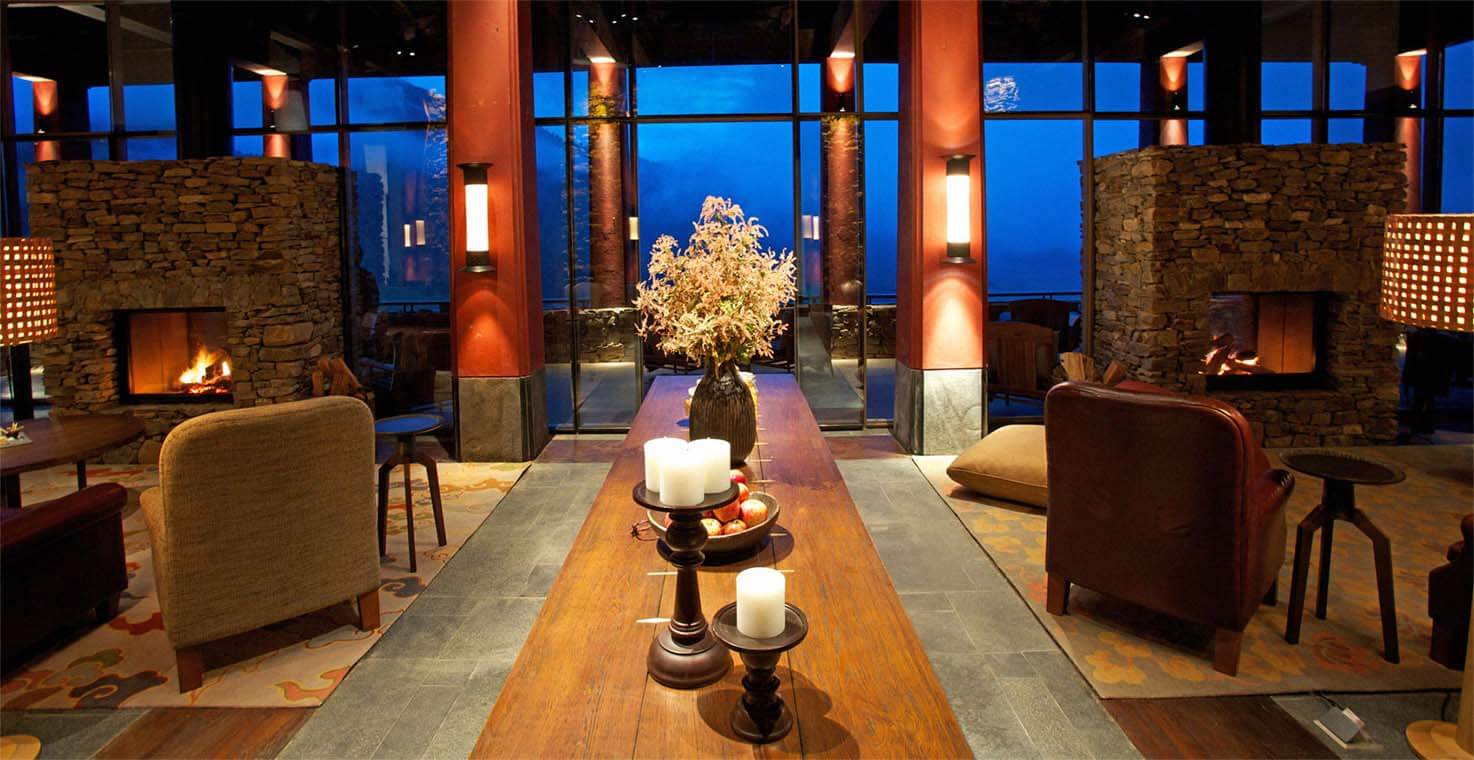 Gangtey Lodge Lounge