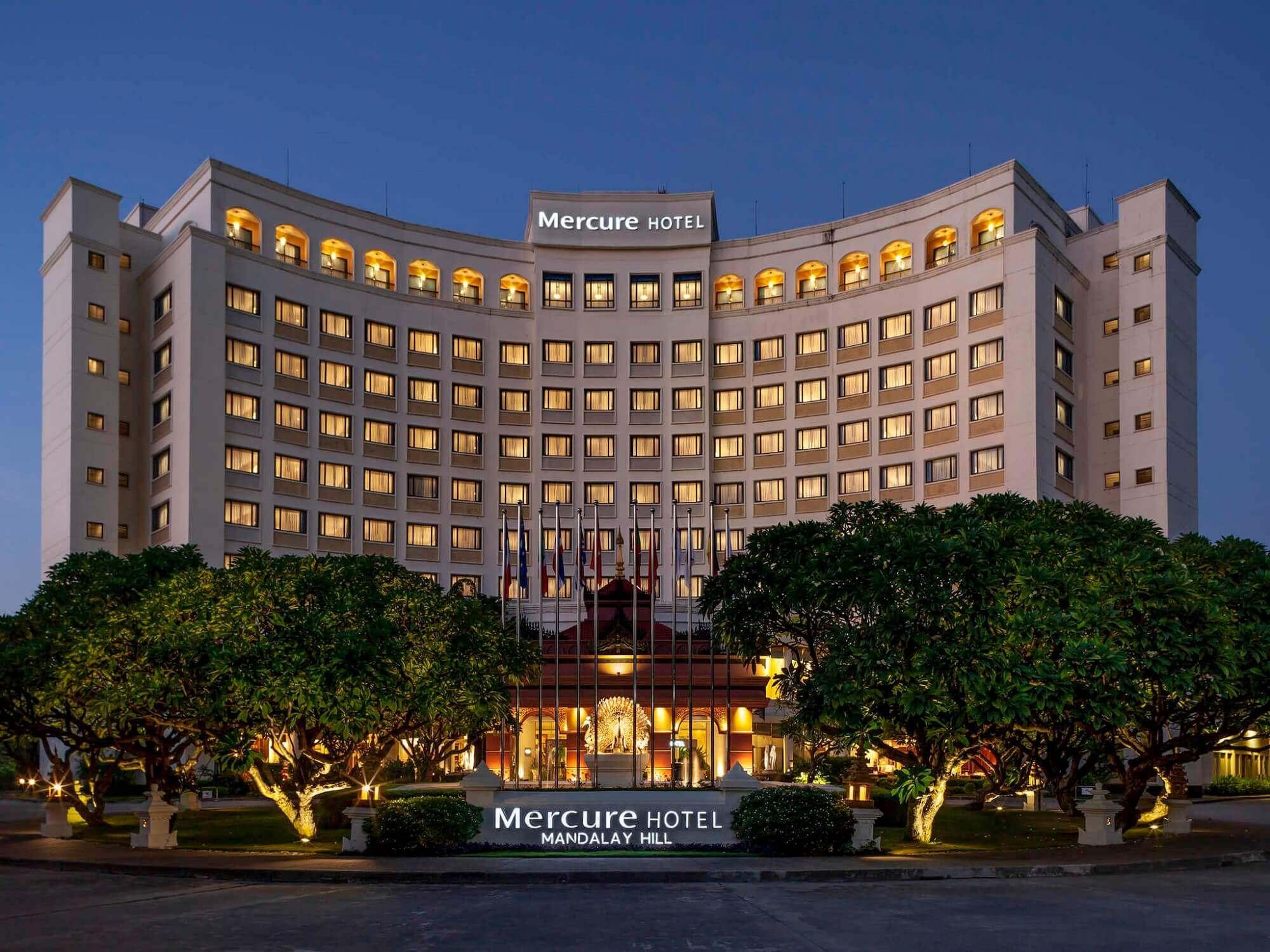 Mercure Mandalay Hill Resort Außenansicht