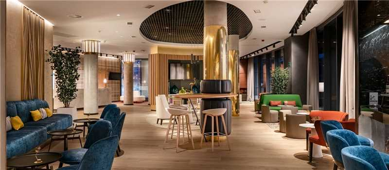 Hotel Vincci Consulado de Bilbao Lobby