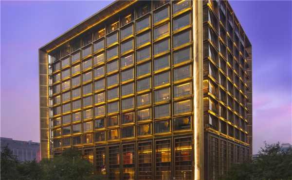 Waldorf Astoria Beijing Außenansicht