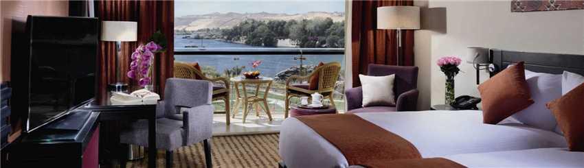 Mövenpick Resort Aswan Doppelzimmer