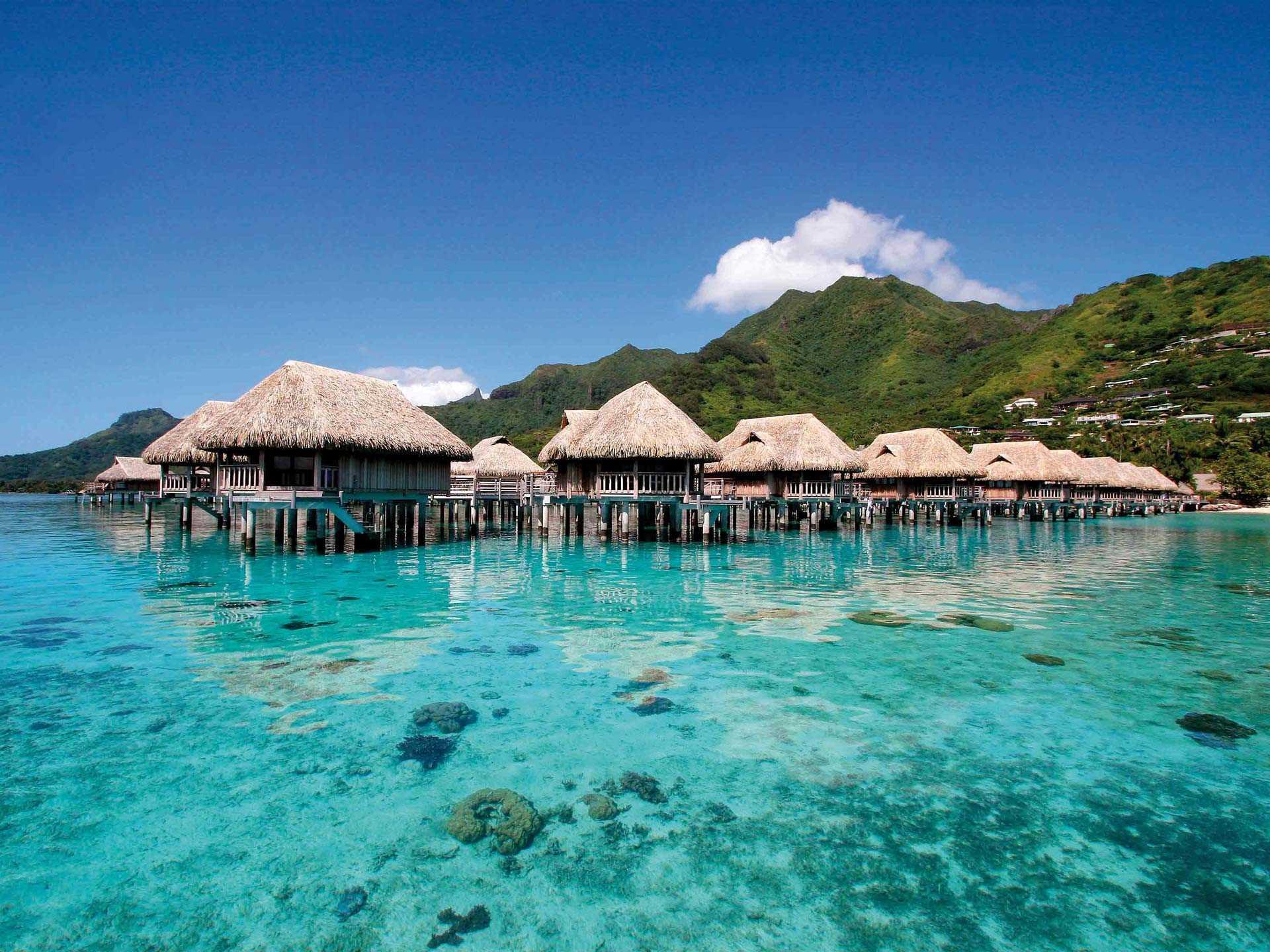 Sofitel Moorea Ia Ora Beach Resort Außenansicht