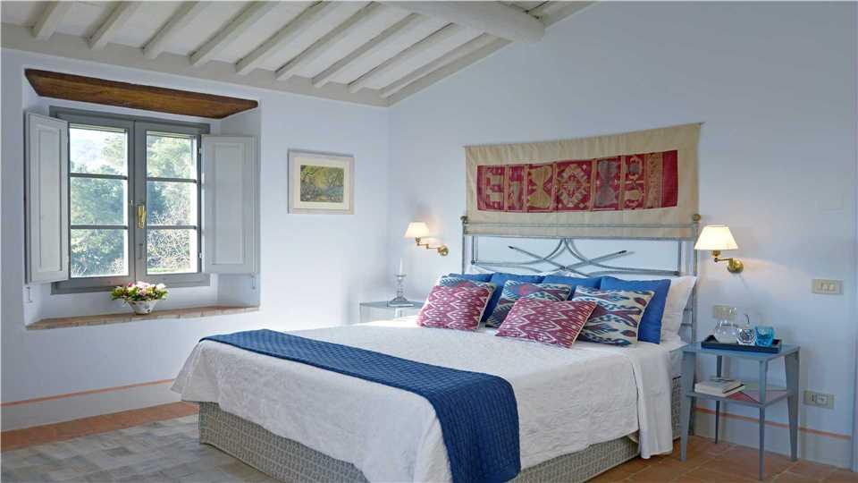 Villa La Limonaia Schlafzimmer - Toskana
